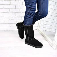 Угги женские UGG Высокие натуральная замша 3690, 36 размер зимняя обувь
