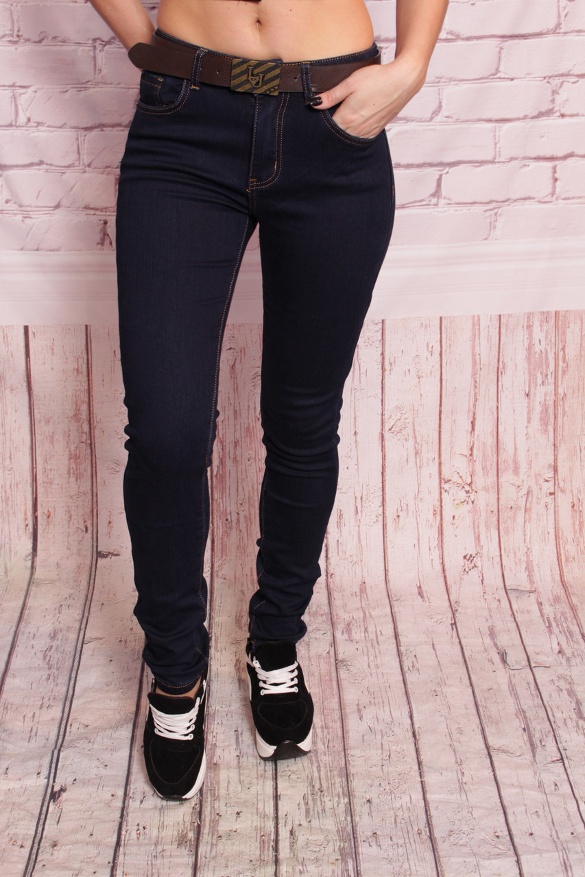 c564f1ee423 Теплые зимние женские джинсы с высокой талией LJ (код 9105A ...