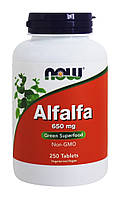 Альфальфа / Люцерна / NOW - Alfalfa 650mg (250 tabs)