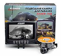 Подводная видеокамера Fisher CR110-7HB кабель 15м