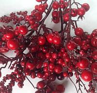Ветки с красными ягодами 3 шт.