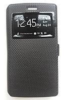 Книжка Book Cover Original Samsung A320 (A3-2017) (Black), фото 1