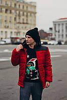 Мужская демисезонная куртка (осень-зима) Nike (S, M, L, XL размеры)
