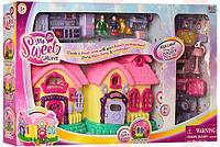 Дом для кукол, кукольный домик, 16639С со звуком и светом.