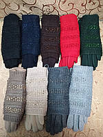 Вязание шерсти трикотаж женские перчатки ANJELA/женские перчатки только оптом