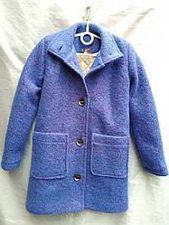 Детское пальто для девочки (116 - 140 см) купить оптом от производителя