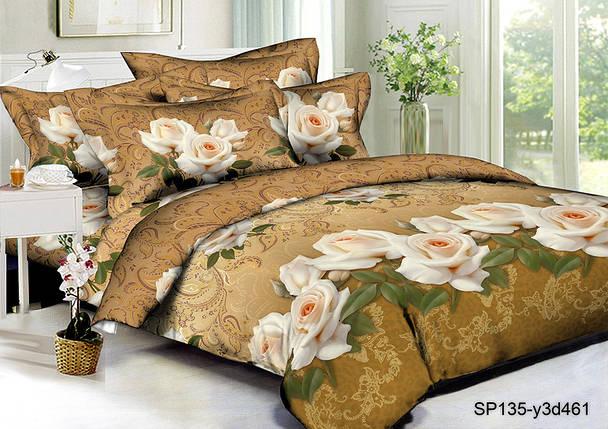 Ткань для постельного белья Полисатин 135 SP135-Y3D461 (60м), фото 2