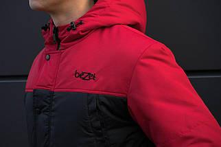 Зимняя parka beZet '17 red/black, фото 2