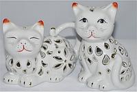 """Аромалампа """"Кошка"""" (14*10*9 см) 1 шт. фарфор"""