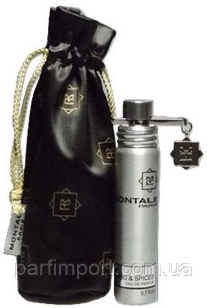 MONTALE WOOD & SPICES EDP 20 ml  парфюм унисекс (оригинал подлинник  Франция)