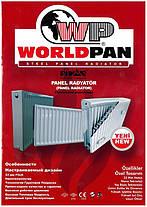 Стальной Радиатор отопления (батарея) 500x800 тип 22 WorldPan (боковое подключение), фото 3