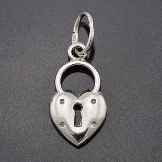 """Серебряный кулон """"Чарівний замочок"""", размер 25*10 мм, вес серебра 1.83 г"""