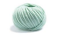Мягкая пряжа для вязания Lamana_Bergamo_38_Lind_Linden-Green, светло-зеленый, тиффани, ментол