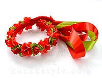 """Віночок """"Троянди"""" (варіанти кольорів)"""