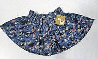 Модная теплая мохнатая юбка для девочки 4-7 лет