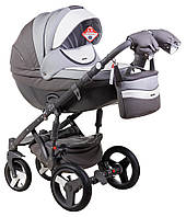 Дитяча коляска Adamex Monte Delux Carbon Ecco, фото 1