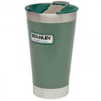 Термокружка 470мл с поилкой Stanley Classic Green ST-10-01704-002, фото 1