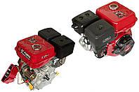 Двигатель мотоблок 177F вал 25мм (9HP под шестерни + электростартер) DAOTONG