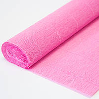 Креп бумага 554 розовая Cartotecnica rossi, Италия