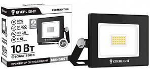 Прожектор светлодиодный ENERLIGHT MANGUST 10Вт 6500K