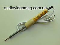 Паяльник 220V 25 Wt Вт отечественный, деревянная ручка