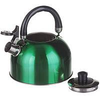 Чайник на плиту 3,0 л Зеленый (1330)