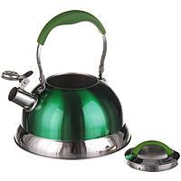 Чайник со свистком 3,2 л (1383) Зеленый