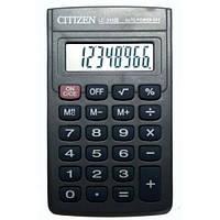 Калькулятор citizen lc-310, прорезиненные кнопки, 8-миразрядный дисплей, корень, проценты, память значений, фото 1