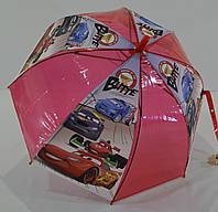"""Детский прозрачный зонтик трость """"грибок"""" на 4-6 лет от фирмы """"MaX"""""""