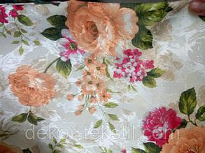 """Готовый комплект штор """"Цветочный Сад """" , фото 2"""