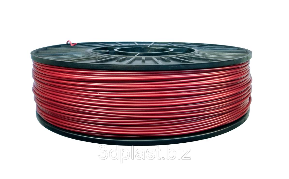 PLA пластик для 3D печати,1.75 мм, 0.75 кг 0.75, Бордовый
