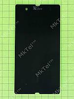 Дисплей Sony Xperia Z C6602 с сенсором Копия АА Черный