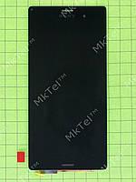 Дисплей Sony Xperia Z3 D6603 с сенсором Оригинал Б/У Черный