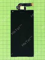 Дисплей Sony Xperia Z5 Compact E5823 с сенсором Оригинал Б/У Черный