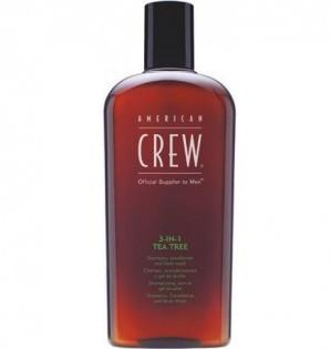 American Crew Tea Tree 3-in-1 Засіб по догляду за волоссям і тілом на основі чайного дерева 3-в-1
