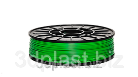 PLA (ПЛА) пластик 3Dplast для 3D принтера 1.75 мм 0.75, зеленый