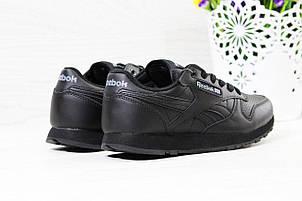 Женские,подростковые кроссовки Reebok, Рибок черные, фото 2