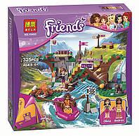 Конструктор Bela Friends Спортивный лагерь дом на дереве аналог LEGO Friends 739 дет