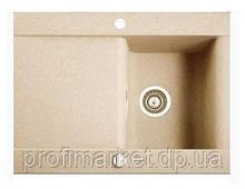 Кухонная мойка на столешницу Marmorin Voga 1k 1o 72x54 Сафари