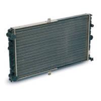 Радиатор вод. охлаждения ВАЗ 2112 инж. (алюм.) (пр-во ДААЗ)