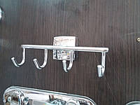 Крючок четверной для ванной комнаты Hansberg