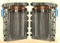Выдувная пресс форма, матрица, оснастка для выдува бочки 220 литров