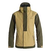 Мужская сноубордическая куртка Quiksilver Snow Men's Ambition 17 Jacket, Elmwood, размер L, фото 1