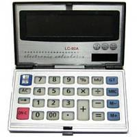 Небольшой карманный калькулятор citizen 80a, складная конструкция, солнечная батарея, 12 разрядов