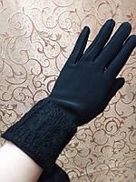 Трикотаж женские перчатки/перчатки женские Эластичный(только ОПТ), фото 1