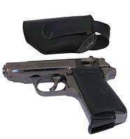 Зажигалка в виде пистолета WALTHER черный матовый в кобуре SKU0000885, фото 1