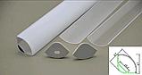 Кутовий дворядний профіль для світлодіодної стрічки YF106-1 (2м) з розсіювачем, фото 8