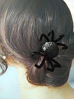 Заколка Черный паук на Хэллоуин, фото 1