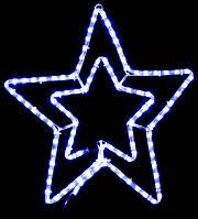 Гирлянда внешняя DELUX MOTIF Star 54см синий IP44 EN, фото 1
