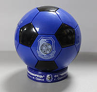 Сувенирный настольный футбольный мяч с символикой ФК Черноморец